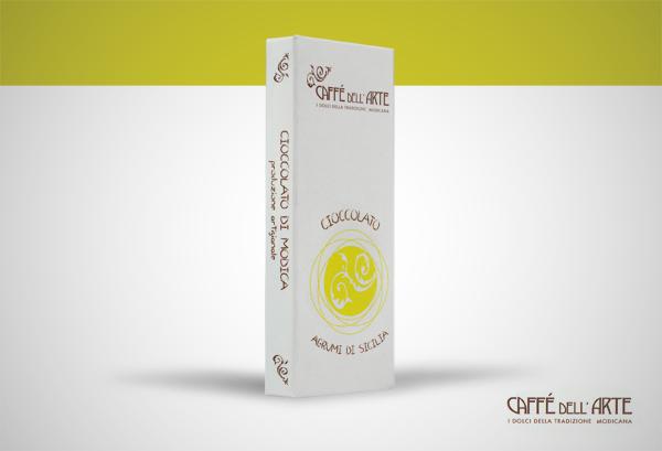 cioccolato agrumi di sicilia - caffè dell'arte Modica