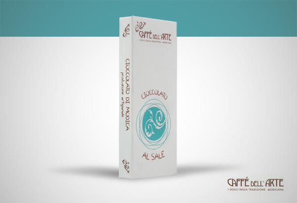 cioccolato al sale - caffè dell'arte Modica