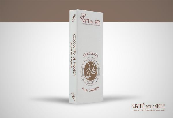 cioccolato alla carrubba - caffè dell'arte Modica
