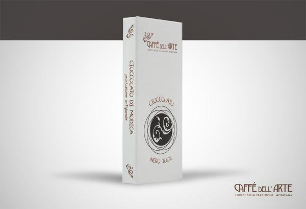 cioccolato nero 100% - caffè dell'arte Modica