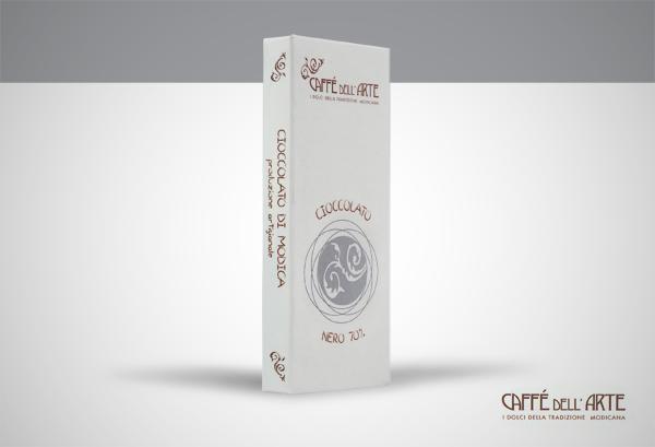 cioccolato al 70% cacao- caffè dell'arte Modica
