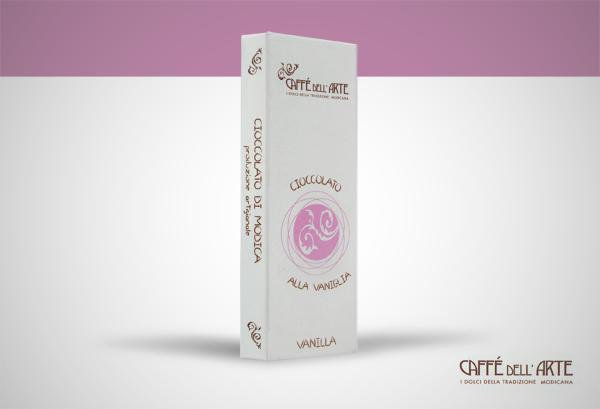cioccolato alla vaniglia - caffè dell'arte Modica