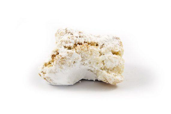 biscotti fiocchi di neve - caffè dell'arte Modica