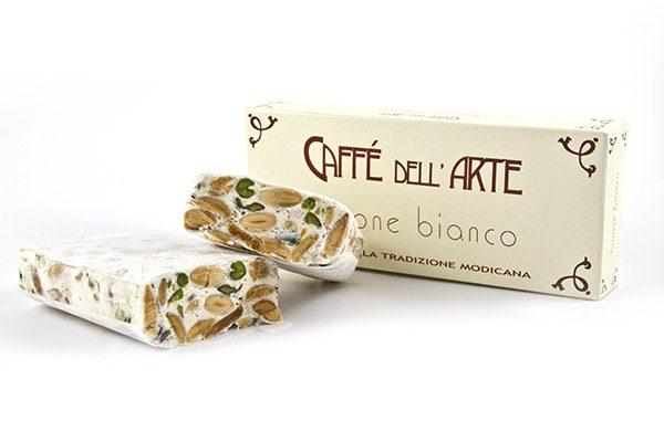 Torrone bianco - caffè dell'arte Modica